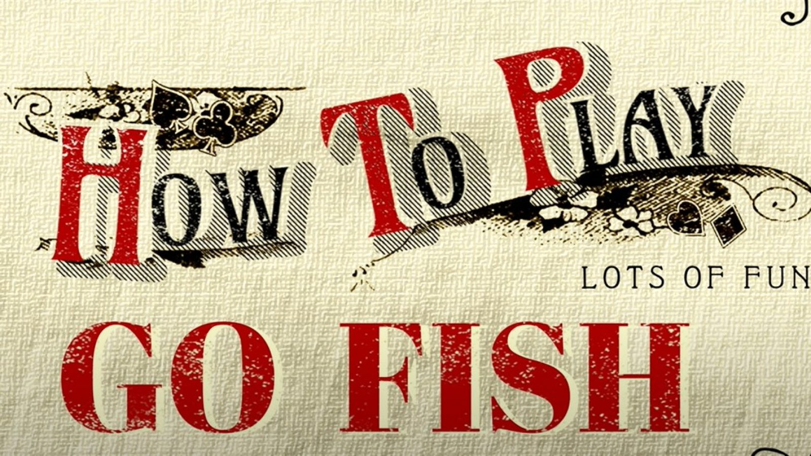 Go fish game rules